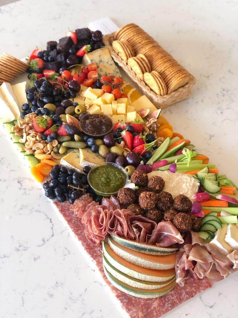 Grazing platters cheeseboard grazing table